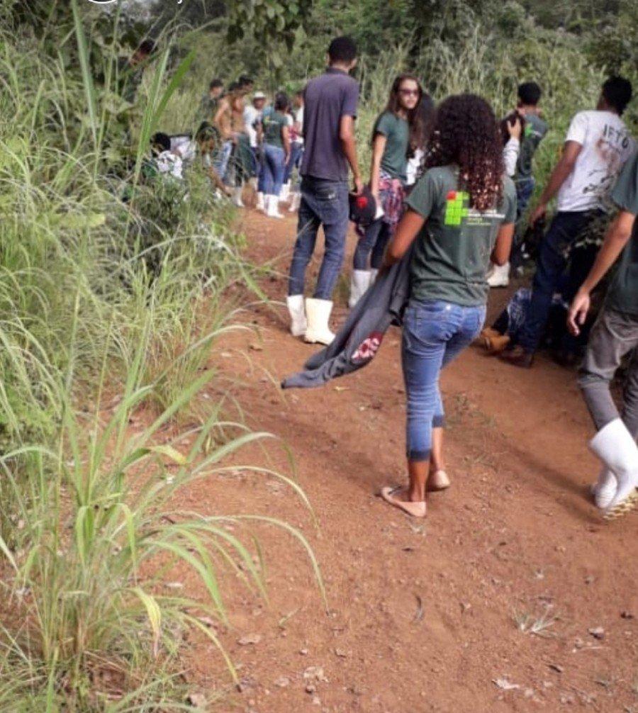 Estudantes do IFTO de Araguatins ficaram feridos durante aula prática