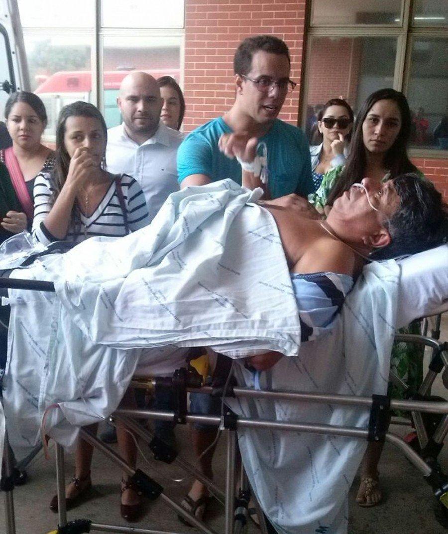 Caso aconteceu no dia 4 de fevereiro desse ano, quando o prefeito e o motorista foram atingidos por tiro após reagirem a assalto
