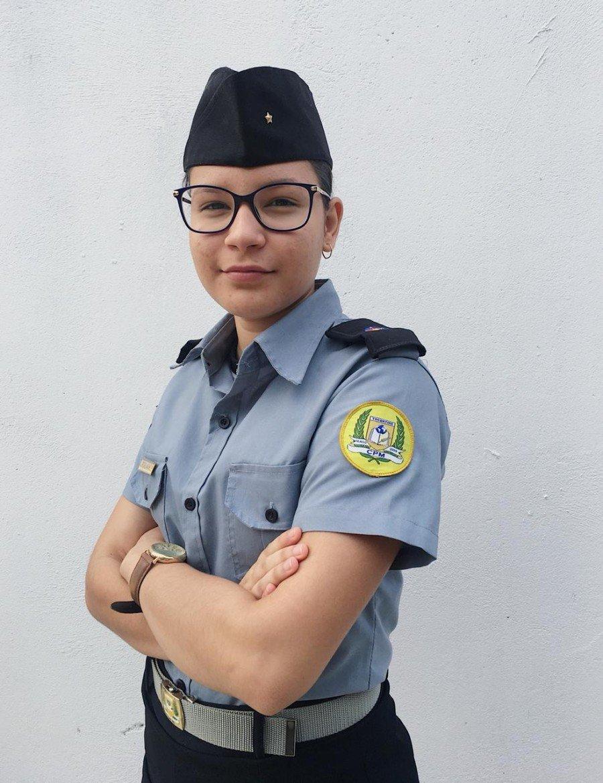 1ª colocada, aluna Carla Marinho Queiroz (T. 13.05)