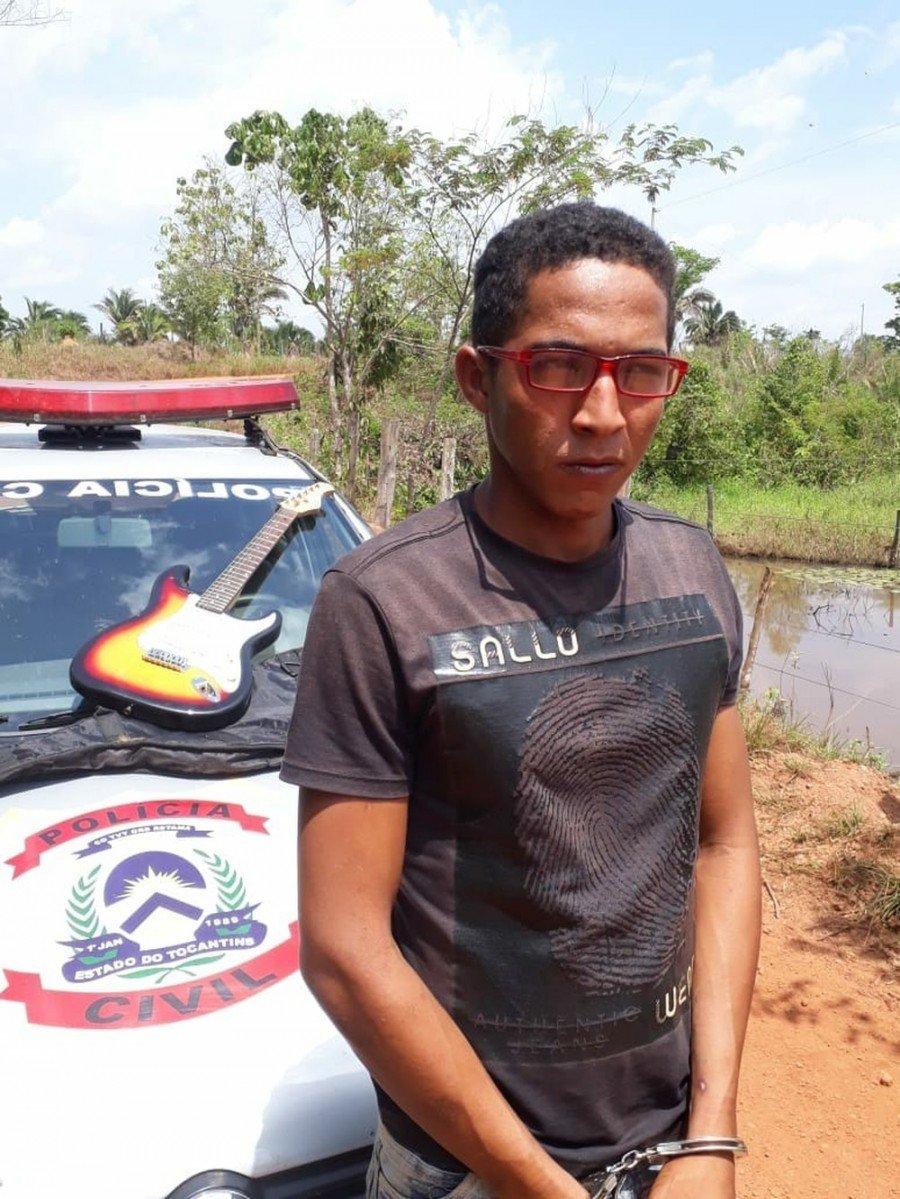 Jovem suspeito de matar e roubar idoso é preso em Xambioá