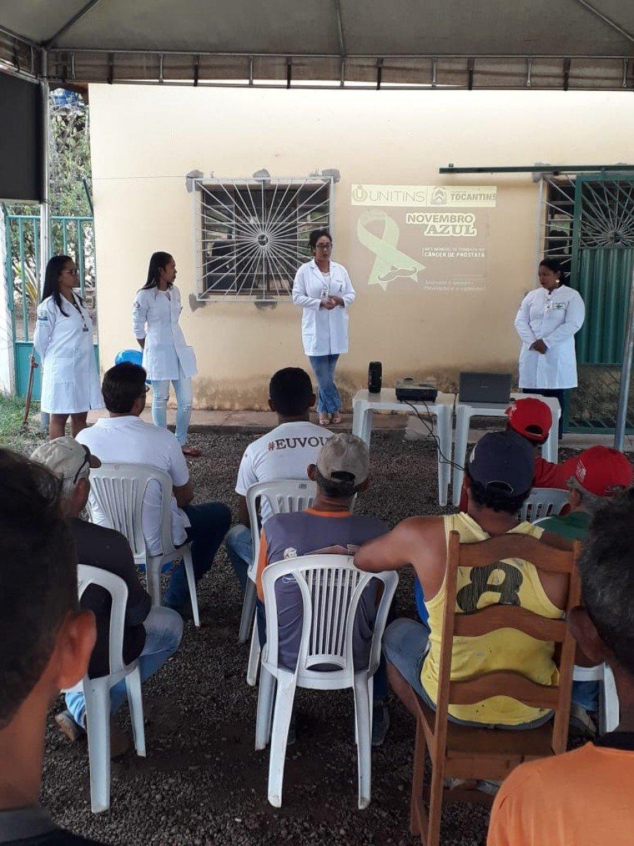 Ação foi realizada no Bairro Portal do Lago, em Augustinópolis (Foto: Divulgação /Ascom Unitins)
