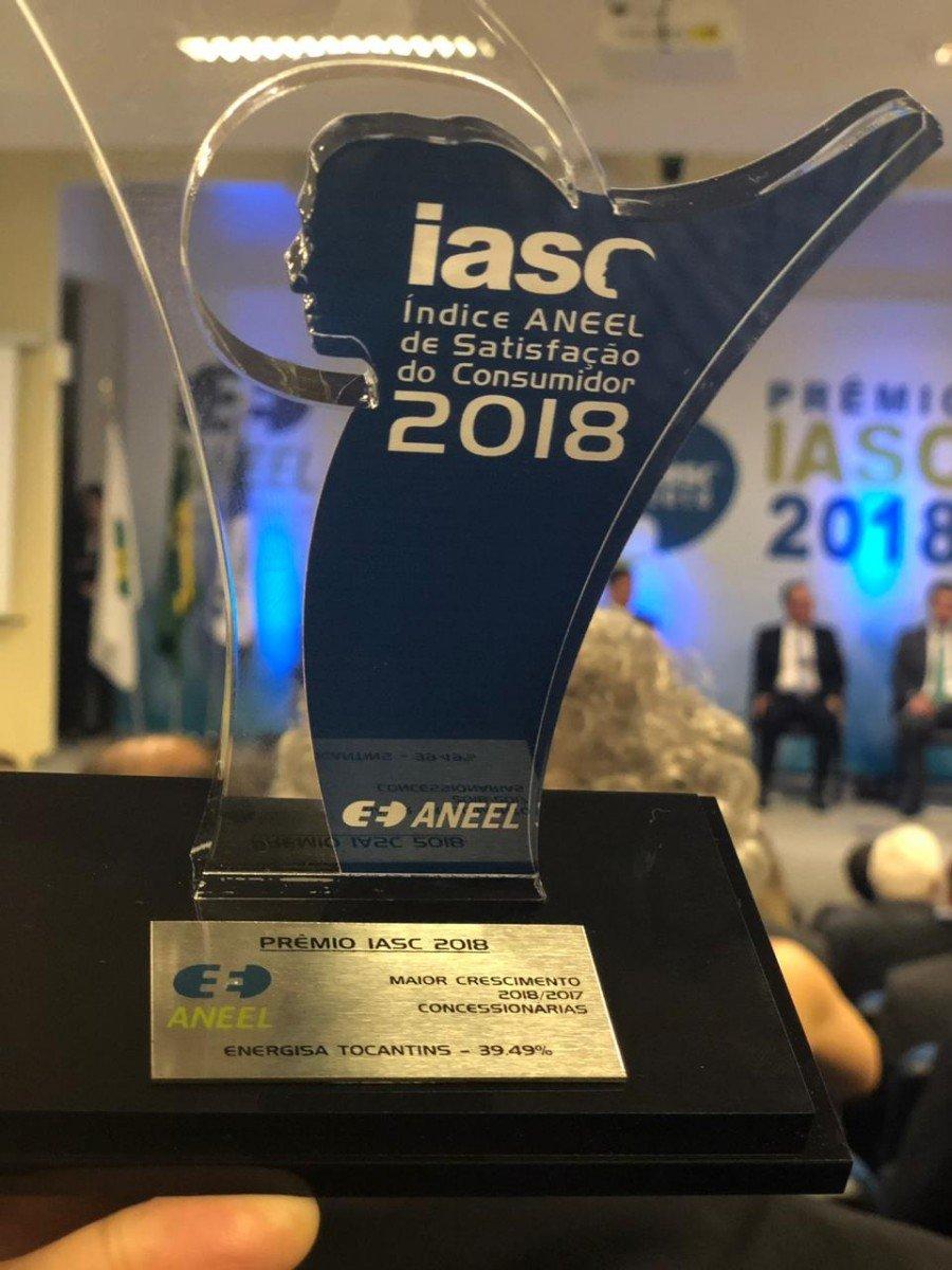 Energisa Tocantins venceu o Prêmio IASC 2018
