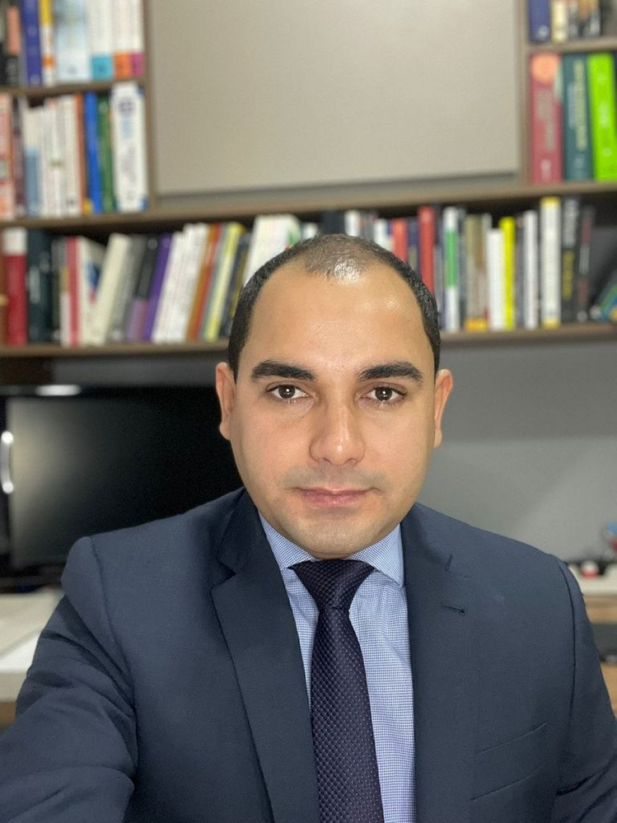André Francisco Cantanhede de Menezes, professor do curso de Direito da Unitins de Augustinópolis