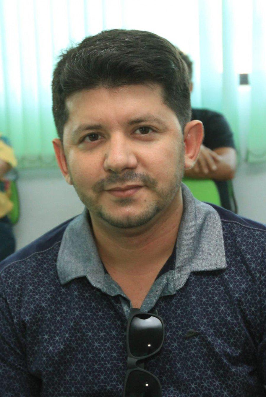 Eldes Ribeiro, secretário do Meio Ambiente de São Bento do Tocantins