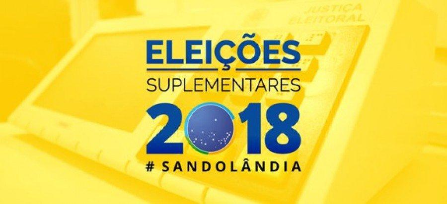 Eleições em Sandolândia, duas coligações registram candidatura para disputar a prefeitura da cidade