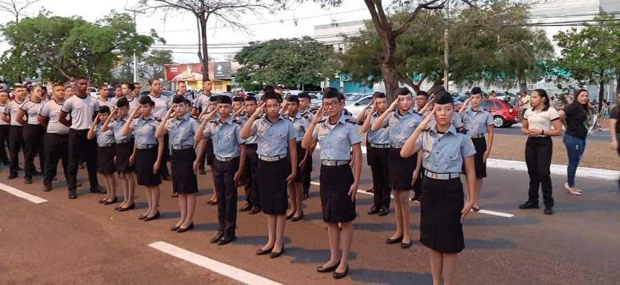 Desfile em Palmas