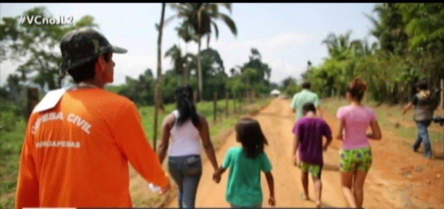 Moradores que vivem próximos a barragens da Vale em Parauapebas-PA, estão preocupados