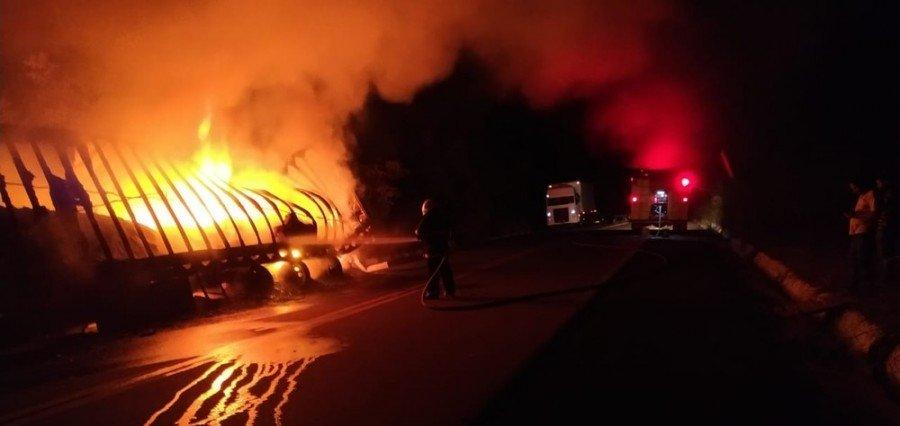 O caso foi registrado na noite desta segunda-feira (8) na BR-230, entre Luzinópolis e Nazaré