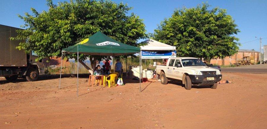 Projeto de recebimento itinerante de embalagens vazias de defensivos agrícolas atende produtores rurais de seis municípios do Bico do Papagaio nesta semana