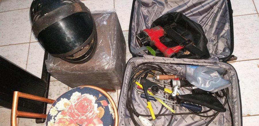 Produtos furtados recuperados