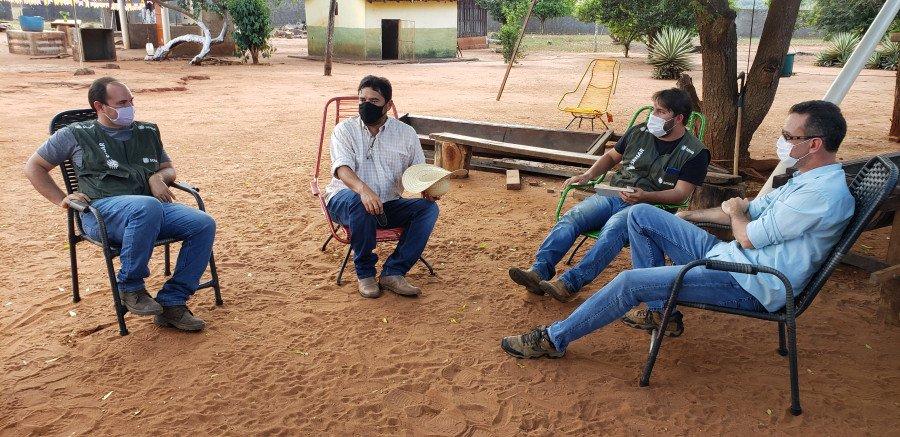O pecuarista relata que ainda tem muito o que aprender com os técnicos (Foto: Divulgação)