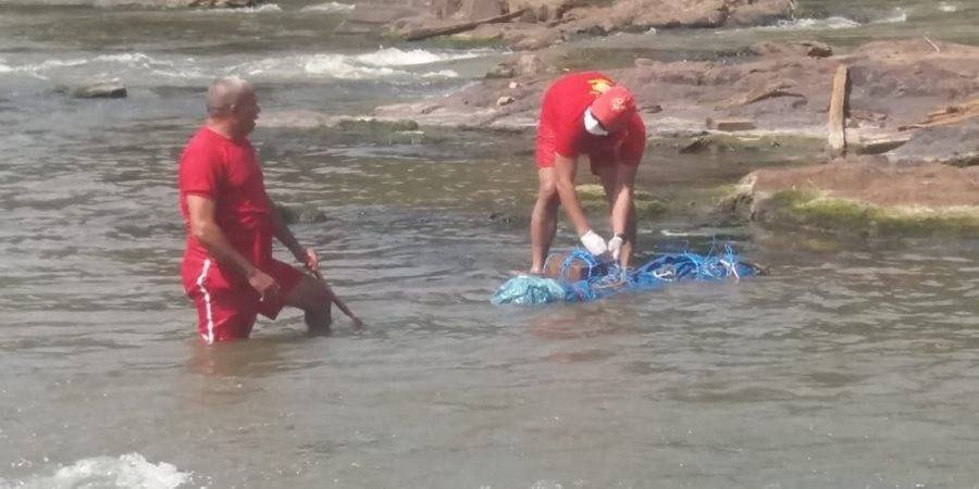 Corpo da mulher foi amarrado a pedra e jogado no Rio Parauapebas