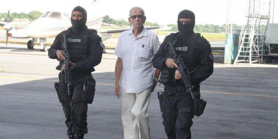 Polícia prendeu José Edmundo Ortiz, apontado como mandante da execução de oito trabalhadores ocupantes da Fazenda Ubá, em São João do Araguaia-PA