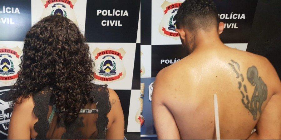 """Polícia Civil deflagrou operação """"Bazófia"""", apreendeu vários quilos de drogas e prendeu casal de traficantes em Palmas"""
