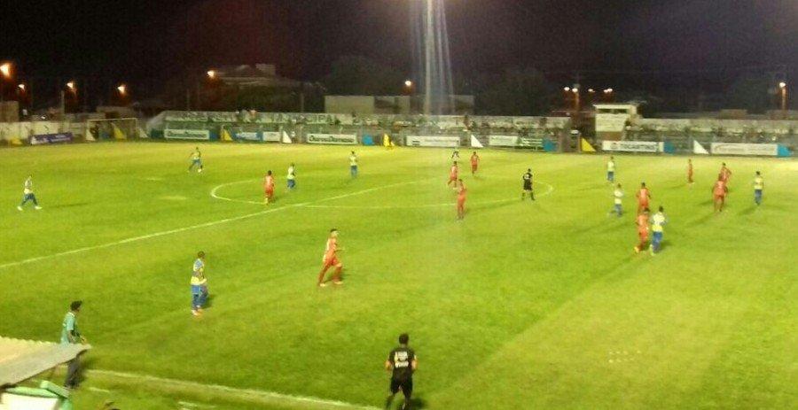 Arsenal de Tocantinópolis e Atlético Cerrado ficam no 1 a 1 (Foto: Abdon Barbosa/Divulgação