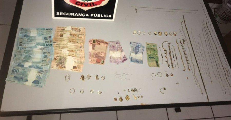 Em Araguatins, suspeito de furtar R$ 60 mil em joias da patroa confessa crime, mas não é preso