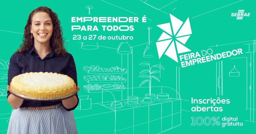 Feira do Empreendedor Digital 2021, do Sebrae, está com inscrições abertas (Foto: Divulgação/Sebrae)