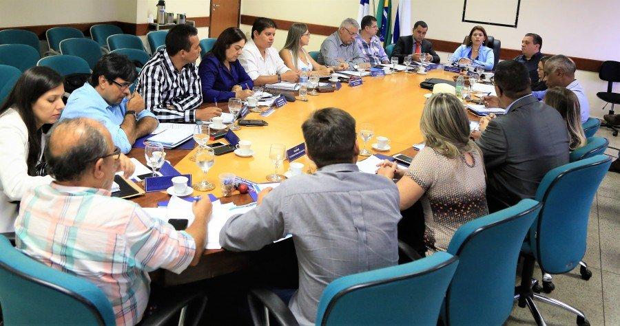 Reunião com Diretores Regionais de Educação em Palmas (Foto: Mateus Oliveira)