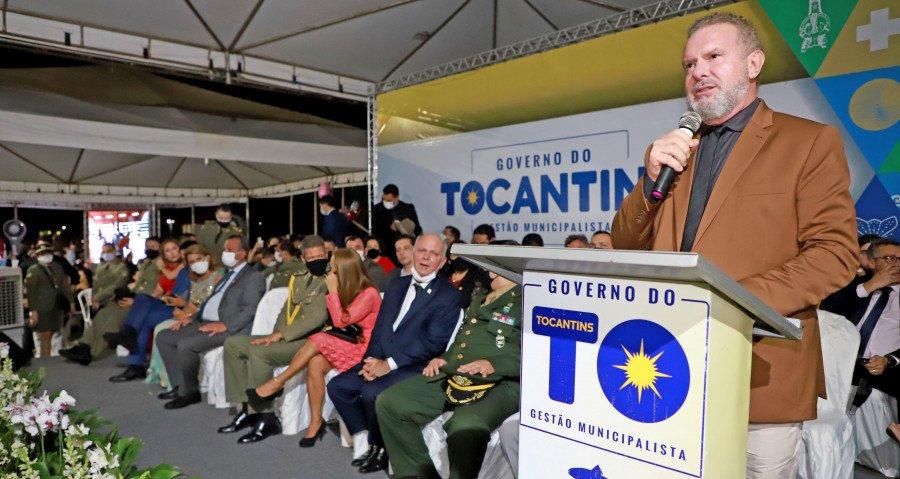Governador Carlesse participa de solenidade de formatura de policiais militares e inaugura Galeria dos Governadores (Foto: Esequias Araújo)