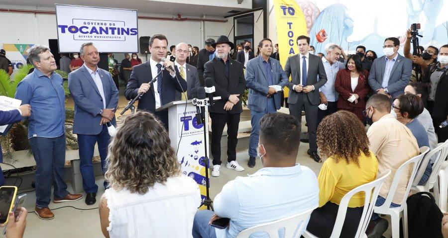 Ministro da Justiça parabenizou o Tocantins pela gestão frente à Segurança Pública e disse que quem ganha é o Brasil (Foto: Washington Luiz)