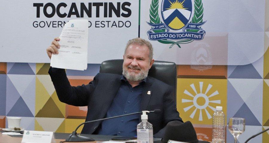 Governador Mauro Carlesse abre semana da Governança com assinatura de atos para melhor eficiência da gestão (Foto: Washington Luiz)