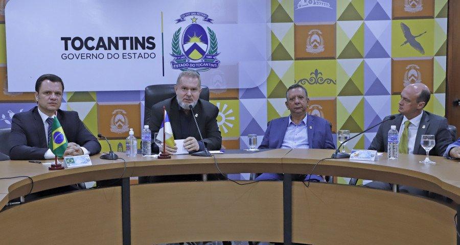 Governador e Ministro também participaram da 78ª Reunião Ordinária do Colégio Nacional de Secretários de Segurança Pública