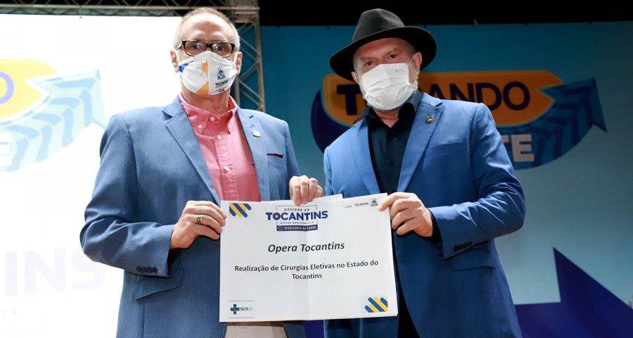 A meta do Governo do Tocantins, com o programa Opera Tocantins, é alcançar cerca de 5 mil cirurgias até o início do próximo ano