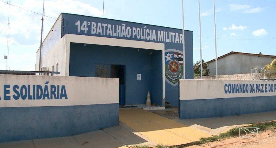 Polícia investiga ameaças de ataques a prédios públicos em Davinópolis (Foto: Reprodução/TV Mirante)