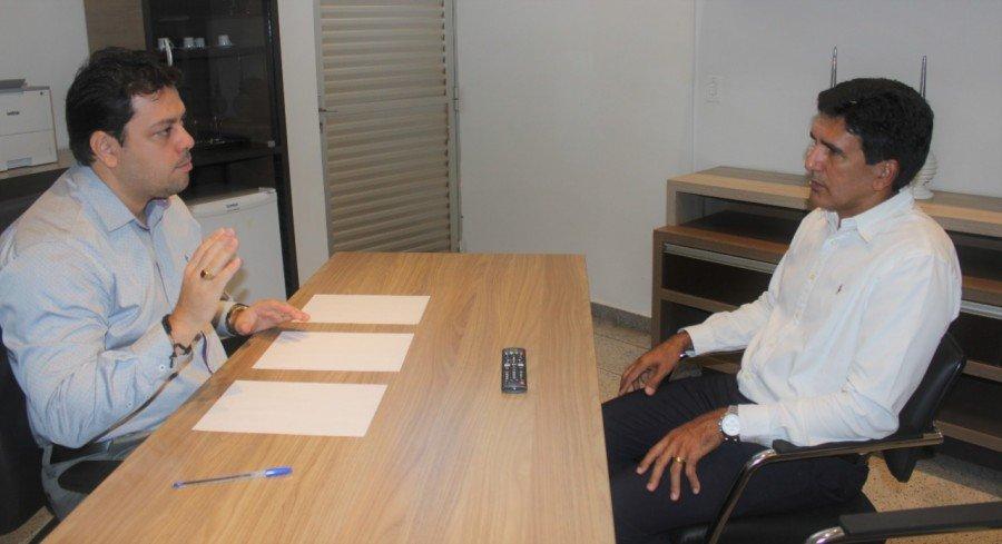 Deputado Prof. Júnior Geo conversou com o presidente do Detran, e apresentou as demandas recebidas pela população