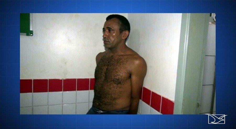 Edelson Silva Moraes já abusava da filha de 13 anos há 3 anos (Foto: Reprodução/TV Mirante)