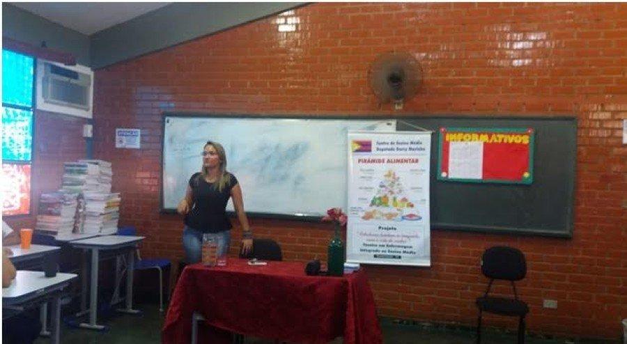 Paula Feitosa falou sobre o curso de Nutrição
