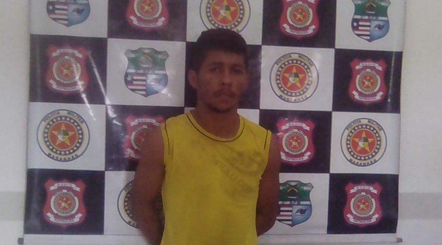 Francielson Gomes Pereira foi preso por ser suspeito de matar uma criança de nove meses no Maranhão (Foto: Divulgação/Polícia Civil)