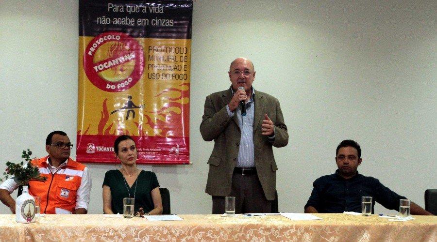 Herbert Brito destacou a importância participação dos municípios nas ações de combate às queimadas