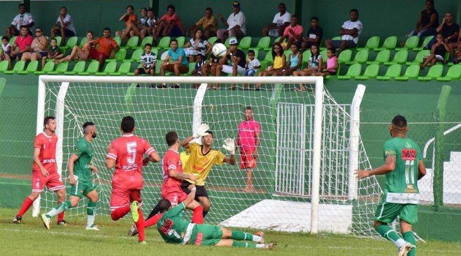 Tocantinópolis enfrenta o Interporto nesta quarta-feira (Foto: Dirceu Leno/Divulgação)