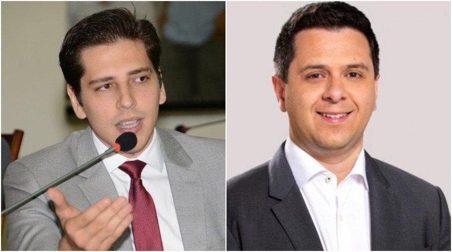 Olyntho Neto (esq) e Tiago Dimas (dir) (Foto: Divulgação)