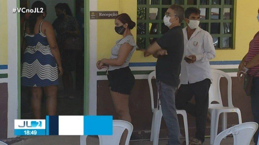 Vacinação contra Covid-19 está atrasada em Parauapebas, no sudeste do Pará (Foto: Reprodução/TV Liberal)