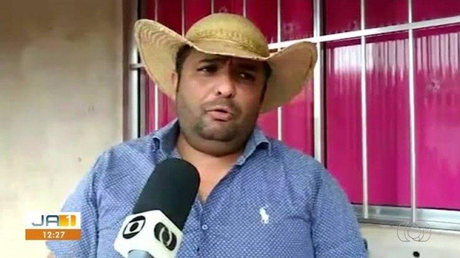 Vereador relata pavor da família após casa ser alvejada em São Bento (Foto: Reprodução/TV Anhanguera)
