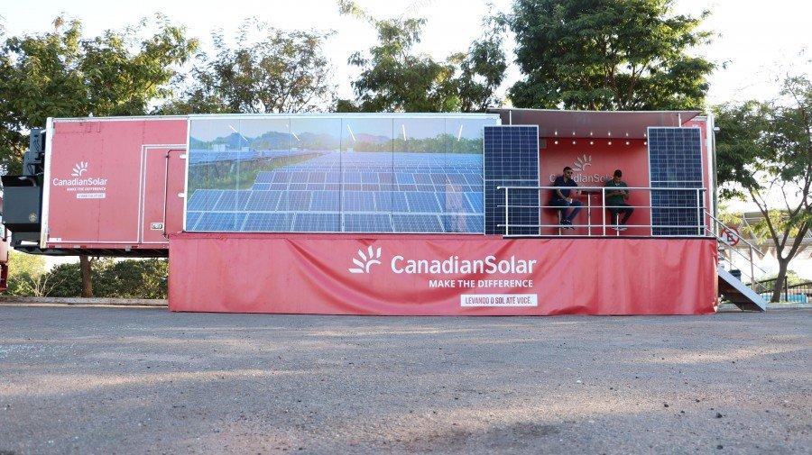 O treinamento faz parte do Road Show Canadian Solar