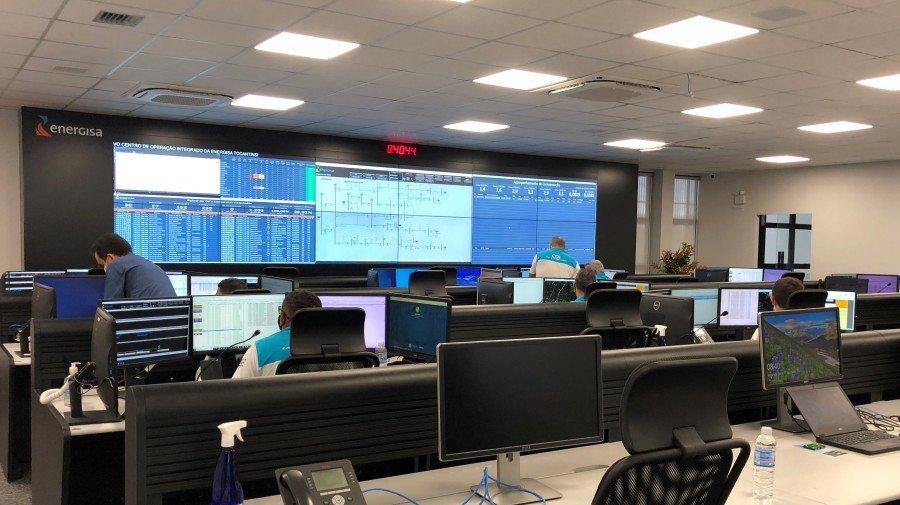 Centro de Operação Integrado da Energisa (Foto: Divulgação/Energisa)