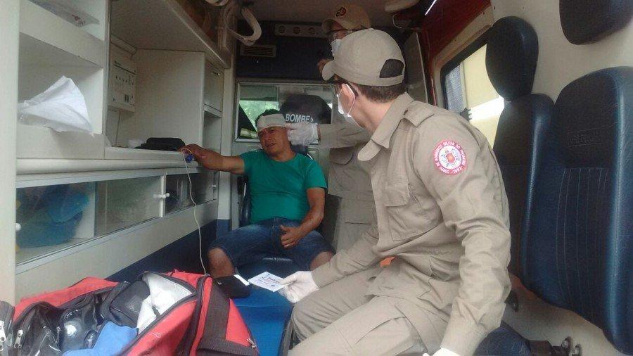 Janari Rodrigues da Silva teve ferimentos na parte frontal da cabeça