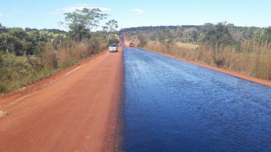 Usuários da TO-126 entre Aguiarnópolis e Tocantinópolis precisam de mais atenção devido a obras de reconstrução do asfalto na via