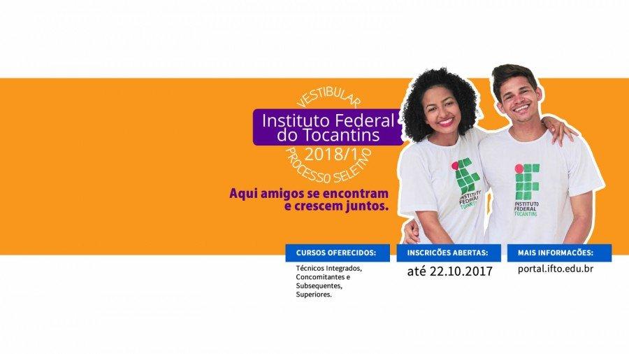 Candidatos poderão fazer inscrições de 8 de setembro a 22 de outubro de 2017