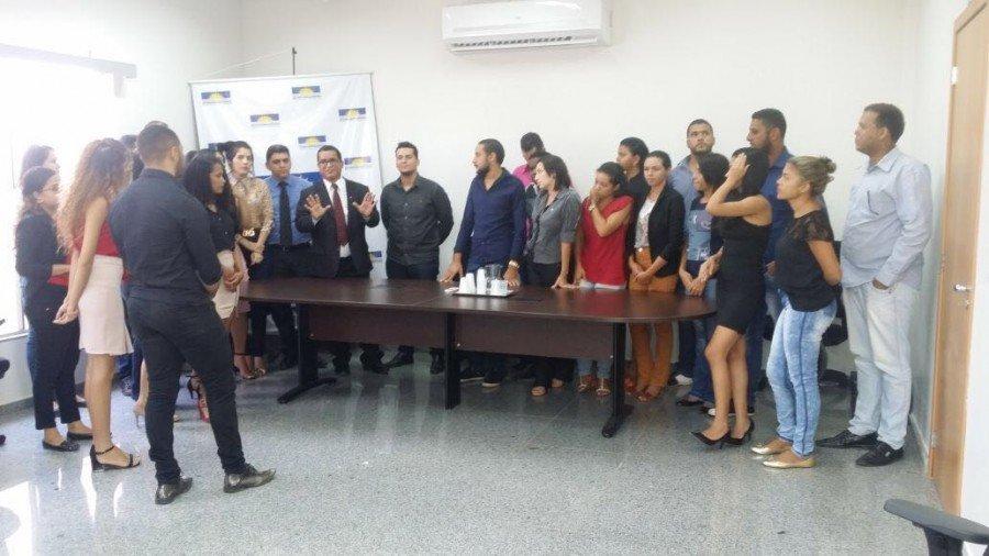 Acadêmicos ouvem explanação do Promotor de Justiça Paulo Sérgio Ferreira de Almeida sobre atuação do Ministério Público