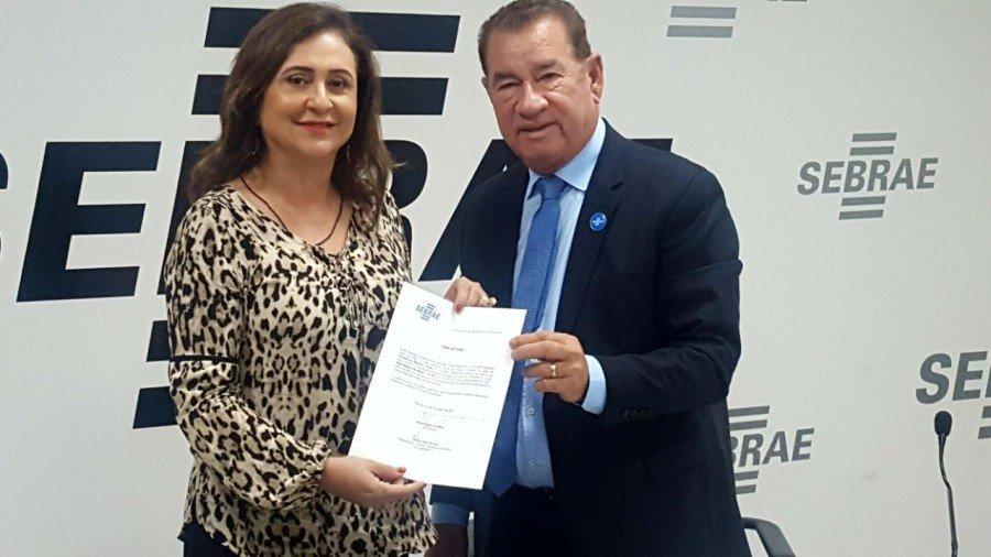 Kátia Abreu foi empossada no Conselho Deliberativo Estadual do SEBRAE