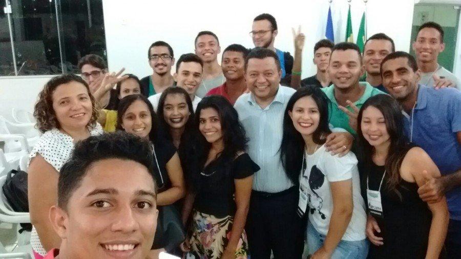 """Márlon Reis após palestra em Araguatins: """"A juventude está ansiosa por maior participação democrática. Existe um sentimento de cidadania muito forte no Tocantins"""""""