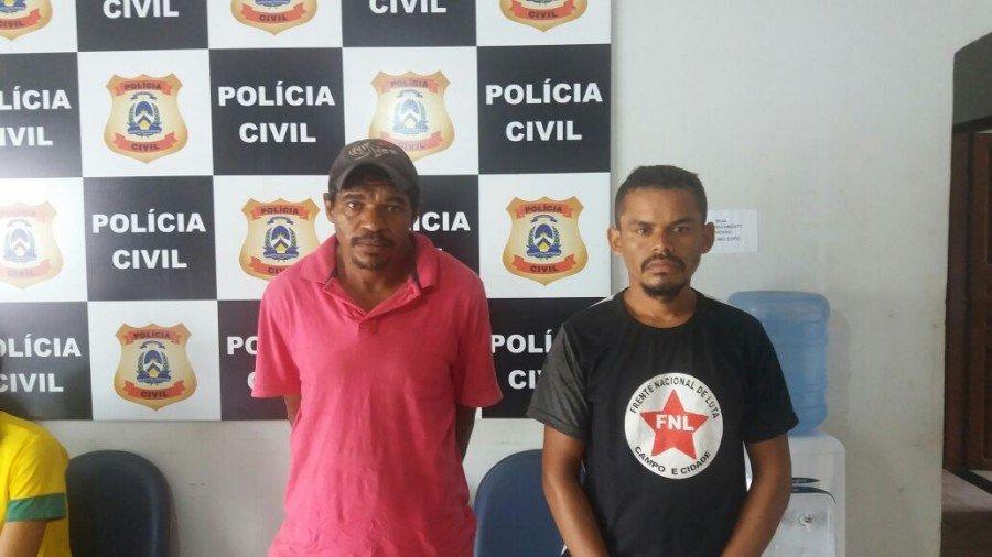 Suspeitos de praticar crimes diversos são preso pela Polícia Civil em Araguatins