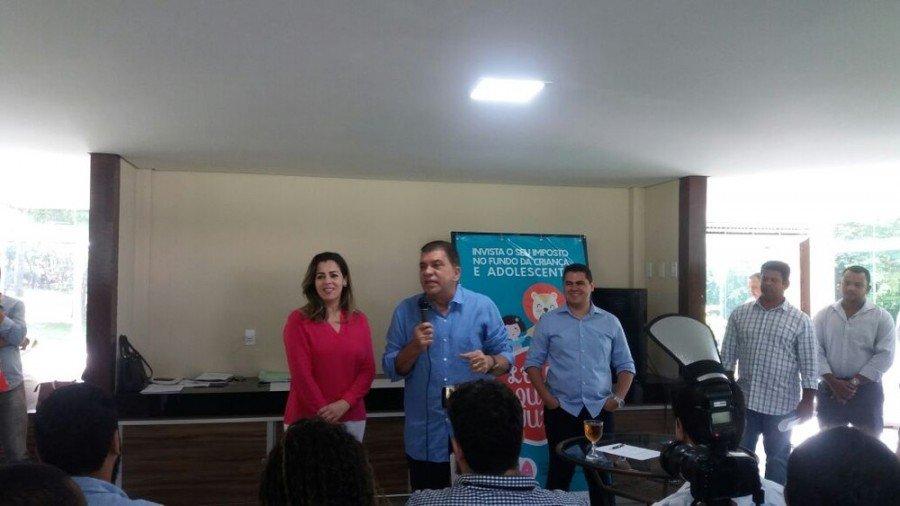Amastha deixou cargo durante coletiva de imprensa (Foto: Nathália Henrique/Divulgação)