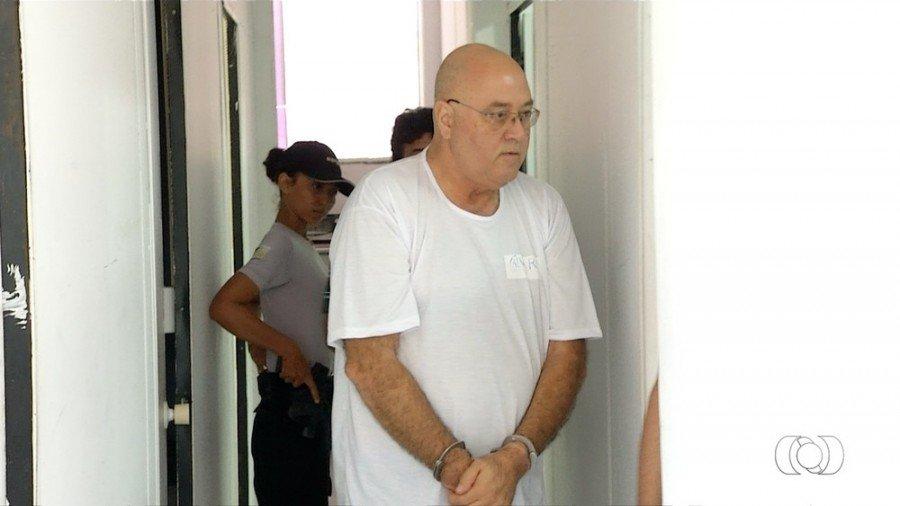 Médico Álvaro Ferreira durante depoimento em Palmas (Foto: TV Anhanguera/Reprodução)