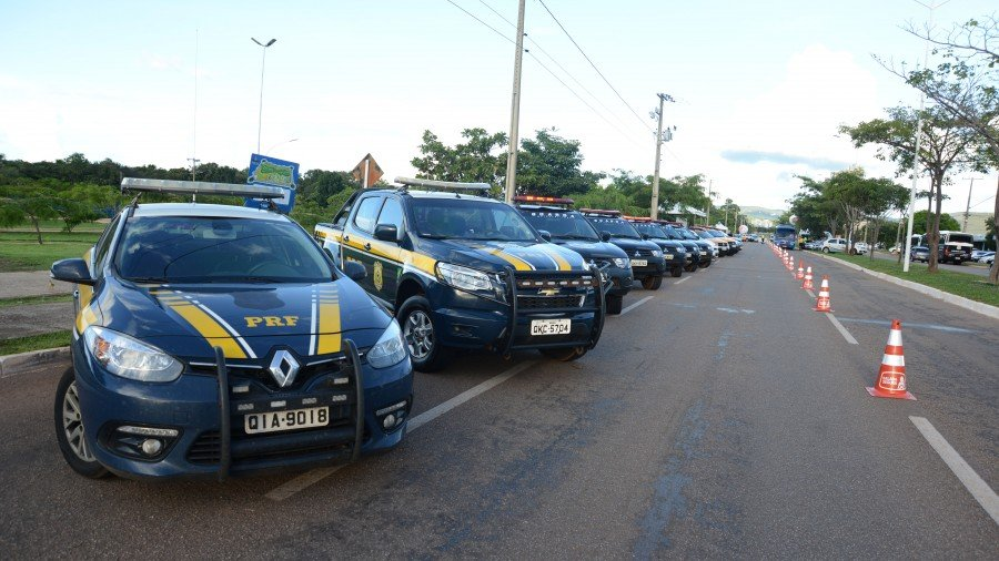 As forças de segurança se uniram durante a operação Balada Seguração (Foto: Luciana Pires)