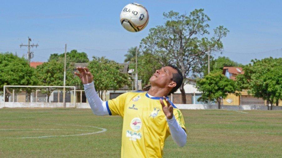 Arú, defendeu as cores do Palmas no Brasileiro da Série D em 2015